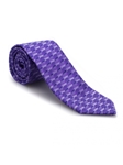 Purple Tonal Geometric Heritage Best of Class Tie | Best of Class Ties Collection | Sam's Tailoring Fine Men Clothing