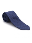 Navy Tonal Geometric Heritage Best of Class Tie | Best of Class Ties Collection | Sam's Tailoring Fine Men Clothing