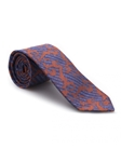 Purple and Orange Paisley Heritage Best of Class Tie | Best of Class Ties Collection | Sam's Tailoring Fine Men Clothing