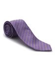 Gold and Purple Geometric Heritage Best of Class Tie | Best of Class Ties Collection | Sam's Tailoring Fine Men Clothing