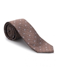 Brown and Sky Geometric Heritage Best of Class Tie | Best of Class Ties Collection | Sam's Tailoring Fine Men Clothing