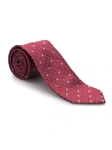 Red and Sky Geometric Heritage Best of Class Tie | Best of Class Ties Collection | Sam's Tailoring Fine Men Clothing