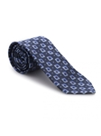 Navy and Sky Geometric Heritage Best of Class Tie | Best of Class Ties Collection | Sam's Tailoring Fine Men Clothing