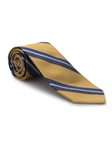 Yellow and Blue Stripe Academy Best of Class Tie | Best of Class Ties Collection | Sam's Tailoring Fine Men Clothing