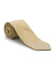 Gold Geometric Welch Margetson Best of Class Tie | Best of Class Ties Collection | Sam's Tailoring Fine Men Clothing