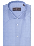 Chambray Twill Estate Sutter Classic Dress Shirt | Robert Talbott Dress Shirts Collection | Sam's Tailoring Fine Men Clothing