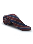 Wine, Blue & Brown RT Woven Madder Tie | Robert Talbott Ties | Sam's Tailoring Fine Men Clothing