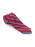Red and Blue Stripe RT Cooper Tie | Robert Talbott Ties | Sam's Tailoring Fine Men Clothing