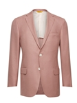 Pink Side Vents American Silk Jacket | Hickey Freeman Men's Collection | Sam's Tailoring Fine Men Clothing
