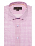 Pink/White Crespi IV Tailored Fit Sport Shirt | Sport Shirts Collection | Sams Tailoring Fine Men Clothing