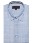 Blue/White Anderson II Classic Fit Sport Shirt | Sport Shirts Collection | Sams Tailoring Fine Men Clothing
