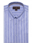 Lavender & White Stripe Anderson II Sport Shirt | Sport Shirts Collection | Sams Tailoring Fine Men Clothing