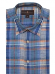 Multi Colored Plaid Anderson II Classic Sport Shirt | Sport Shirts Collection | Sams Tailoring Fine Men Clothing