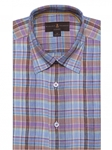Brown, Blue & Green Plaid Anderson II Sport Shirt | Sport Shirts Collection | Sams Tailoring Fine Men Clothing