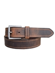 Tracker Sienna Vintage Tanned Leather Belt | lejon Leather Belts collection | Sam's Tailoring