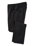Black Liquid Cotton Stretch Casual Pant | Bobby Jones Pants Collection | Sams Tailoring Fine Men Clothing