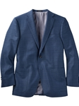 Solid Blue Tropical Wool Worsted Wool Sport Coat | Bobby Jones Sport Coats Collection | Sams Tailoring Fine Men Clothing