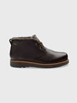 Espresso Brown / Black Ice Sole Winter's Day Active Outdoor Shoe | Active Outdoor Shoes | Sam's Tailoring Fine Men Clothing