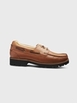 Saddlebag Tan / Black Sole Camplight Active Outdoor Shoe | Active Outdoor Shoes | Sam's Tailoring Fine Men Clothing