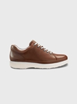 Burnished Tan Full Grain / White Sole Hubbard Fast For Him Shoe | Men's Casual Shoes | Sam's Tailoring Fine Men Clothing