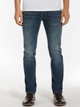 Dark Vintage Wash Slim Straight Leg Parker Denim | Spring Denim Collection | Sam's Tailoring Fine Men Clothing