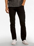 Black Wash Slim Straight Leg Parker Denim | Spring Denim Collection | Sam's Tailoring Fine Men Clothing