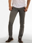 Grey Wash With Charcoal Slim Straight Parker Denim | Spring Denim Collection | Sam's Tailoring Fine Men Clothing
