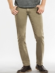 Khaki Wash With Dark Slim Straight Parker Denim | Spring Denim Collection | Sam's Tailoring Fine Men Clothing