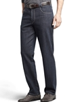 Blue Diego Contrast Swing Pockets Ring Denim | Meyer Swing Pockets | Sam's Tailoring Fine Men Clothing