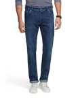 Stone Blue Handfinished M5 Regular Stretch Fairtrade Denim | Meyer Denim - Five Pocket | Sam's Tailoring Fine Mens Clothing