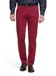 Red Bonn Fairtrade Soft Cotton Chino | Meyer Trousers/Chinos |  Sam's Tailoring Fine Men Clothing