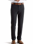 Charcoal Roma Regular Fit Fine Tropical Trouser | Meyer Trousers/Chinos |  Sam's Tailoring Fine Men Clothing