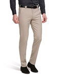 Beige Roma Fine Tropical Wool Trouser | Meyer Trousers/Chinos |  Sam's Tailoring Fine Men Clothing
