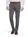 Grey Oslo Gabardine Wool Trouser | Meyer Trousers/Chinos |  Sam's Tailoring Fine Men Clothing
