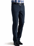 Blue-Black Roma T400 Core Spun Denim | Meyer Denim |  Sam's Tailoring Fine Men Clothing