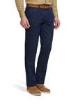 Navy Chicago Cotton Wool Denim Chino | Meyer Trousers/Chinos |  Sam's Tailoring Fine Men Clothing