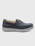 Driftwood Blue New Endeavor Casual Shoe | Men's Casual Shoes | Sam's Tailoring Fine Men Clothing