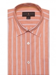 Peach, White And Blue Stripe Anderson II Classic Sport Shirt | Robert Talbott Fall Sport Shirts Collection  | Sam's Tailoring Fine Men Clothing