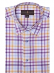 Multi-Color Twill Plaid Anderson II Classic Sport Shirt | Robert Talbott Fall Sport Shirts Collection  | Sam's Tailoring Fine Men Clothing