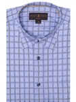 Celeste Twill Check Anderson II Classic Sport Shirt | Robert Talbott Fall Sport Shirts Collection  | Sam's Tailoring Fine Men Clothing