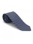 Navy and Sky Stripe Executive Best of Class Tie | Best of Class Ties Collection | Sam's Tailoring Fine Men Clothing