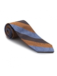 Orange, Sky and Brown Venture Best of Class Tie | Best of Class Ties Collection | Sam's Tailoring Fine Men Clothing