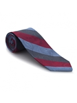 Sky, Red and Grey Venture Best of Class Tie | Best of Class Ties Collection | Sam's Tailoring Fine Men Clothing