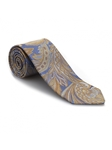 Blue and Yellow Paisley Heritage Best of Class Tie | Best of Class Ties Collection | Sam's Tailoring Fine Men Clothing