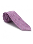 Pink and Blue Super Jacquard Best of Class Tie | Best of Class Ties Collection | Sam's Tailoring Fine Men Clothing