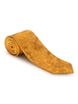 Gold Floral Paisley Carmel Print Best of Class Tie | Best of Class Ties Collection | Sam's Tailoring Fine Men Clothing
