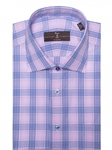 Pink, Blue and White Ultimate Twill Check Dress Shirt | Robert Talbott Fall Dress Collection | Sam's Tailoring Fine Men Clothing