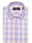 Butter Ultimate Twill Check Estate Dress Shirt | Robert Talbott Fall Dress Collection | Sam's Tailoring Fine Men Clothing