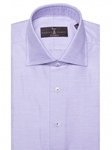 Lavender and White Micro Diamond Dobby Solid Dress Shirt | Robert Talbott Fall Dress Collection | Sam's Tailoring Fine Men Clothing