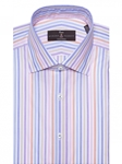 Celeste Zephir Stripe Estate Tailored Dress Shirt | Robert Talbott Fall Dress Collection | Sam's Tailoring Fine Men Clothing